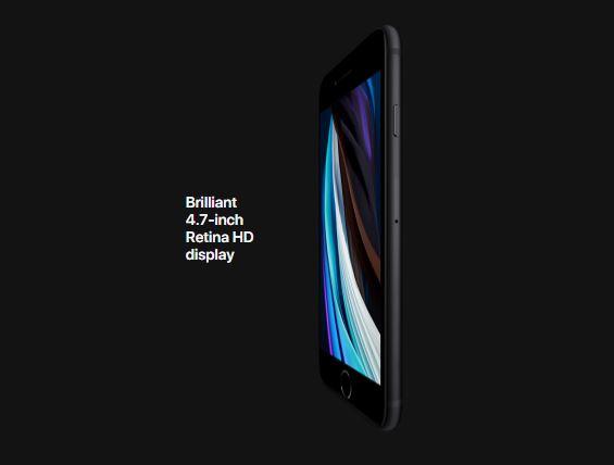 I Phone SE 2020 Display
