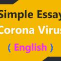 ESSAY ON CORONAVIRUS PANDEMIC IN ENGLISH