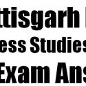 CG Board 12th Business Studies Set A Exam Answer